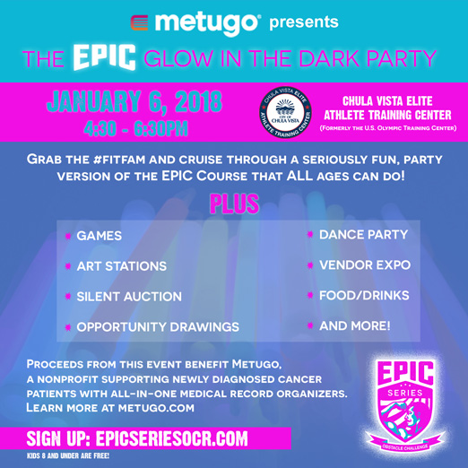 Metugo epic glow in the dark party
